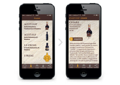 App – Acetaia Pedroni