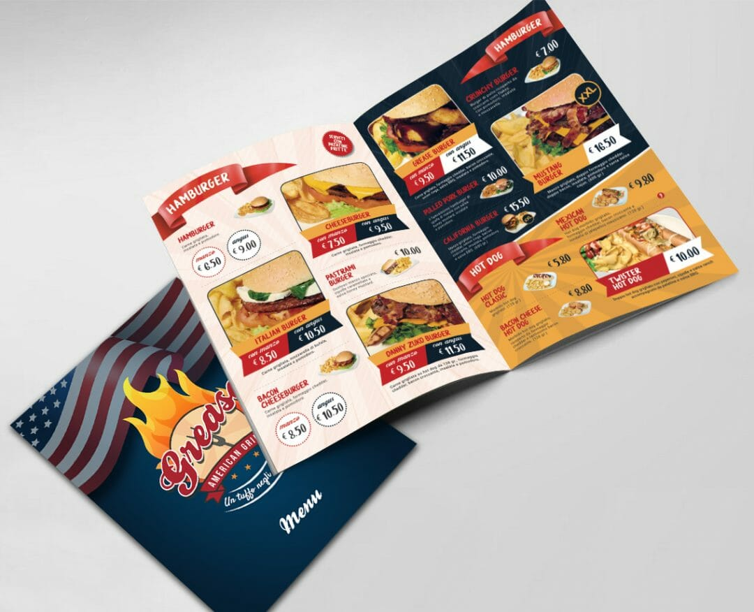 Nuovo menu – Grease